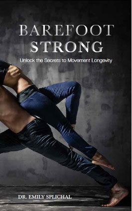 """""""barefoot strong"""" event with dr emily splichal  finish"""